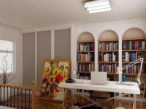 2016精致的大户型书房室内设计装修效果图