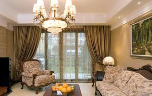 100平米别墅现代简约室内窗帘装修设计效果图