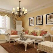欧式风格小户型客厅设计装修效果图