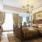 2016精致的大户型卧室室内设计装修效果图