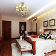 2016时尚都市小户型卧室装修效果图实例
