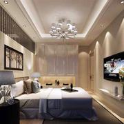 现代简约时尚卧室效果图