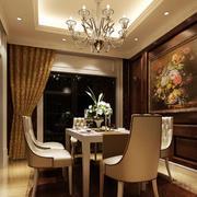 欧式古典时尚餐厅吊灯设计