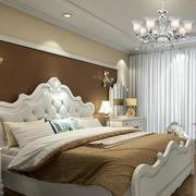 欧式风格卧室背景墙效果图