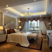 欧式卧室精美窗帘设计