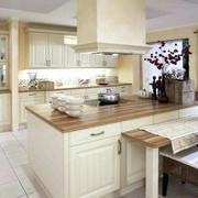 欧式风格大户型厨房室内设计装修效果图