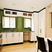 120平米欧式精致厨房室内装修设计效果图