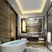 欧式别墅型卫生间设计装修效果图实例