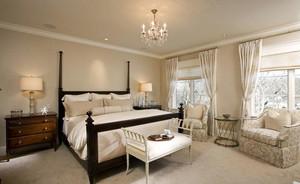 北欧风格简约时尚舒适卧室装修效果图