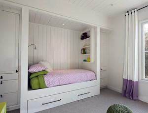 90平米大户型室内榻榻米床设计装修效果图