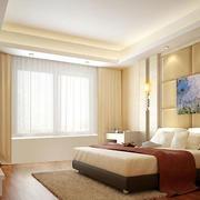 温馨舒适卧室效果图