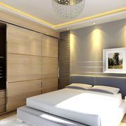 现代风格简约卧室效果图