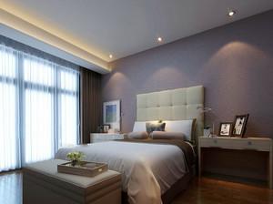 现代简约时尚三居室卧室装修效果图