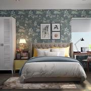 简约时尚卧室墙纸