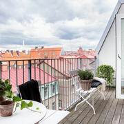 复式楼阳台装修效果图