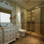 欧式经典卫生间橱柜设计