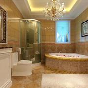 欧式风格精致卫生间瓷砖