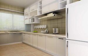 现代简约风格大户型厨房设计装修效果图