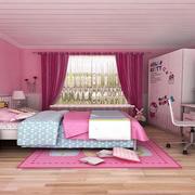 可爱女生儿童房装修