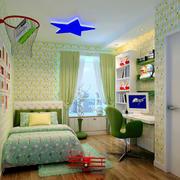 自然舒适儿童房效果图