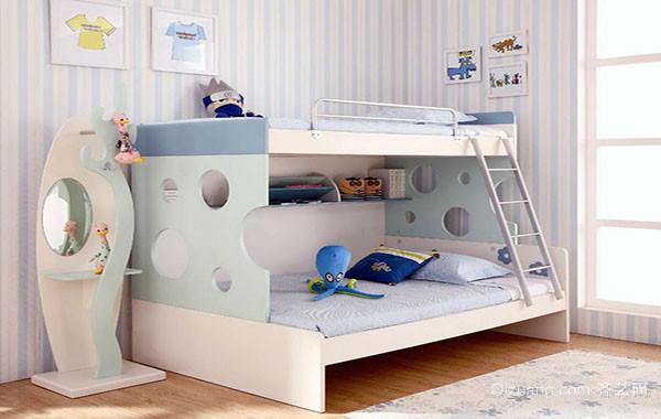 2016年全新款时尚简约儿童房装修效果图