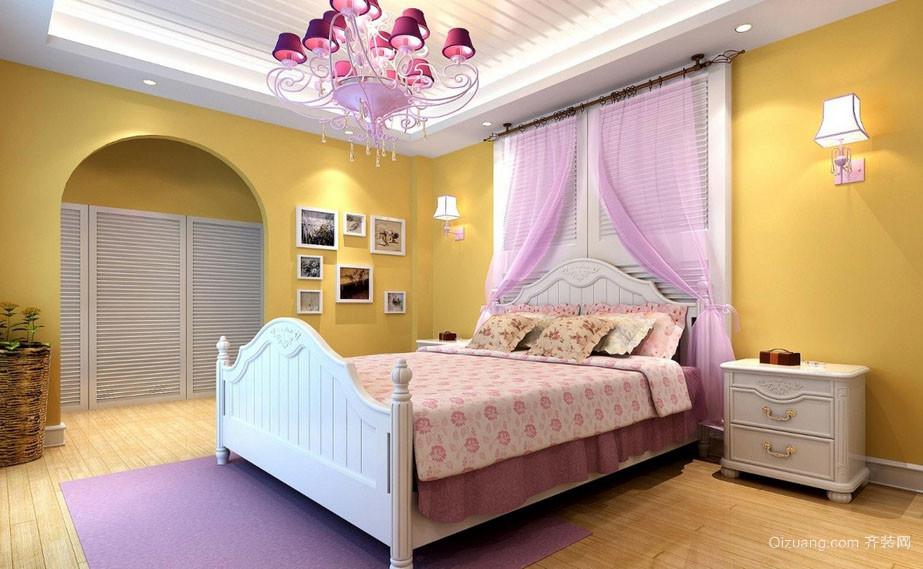 简欧风格自然轻快儿童房装修实例