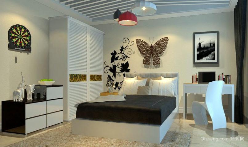 后现代风格卧室设计效果图