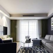 灰色空间客厅装修效果图