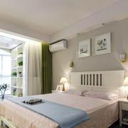 北欧自然舒适卧室装修效果图