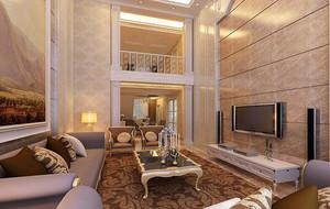 2016欧式风格复式楼室内设计装修效果图