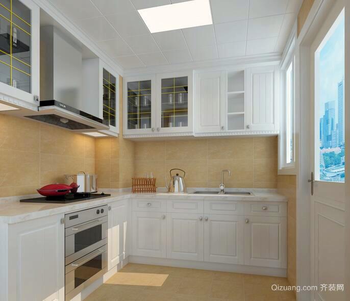 精美的欧式别墅型厨房装修设计效果图