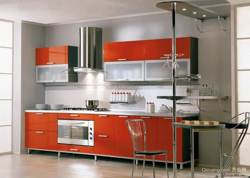 别墅型欧式厨房橱柜装修效果图鉴赏