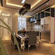 欧式风格小户型餐厅装修设计效果图鉴赏