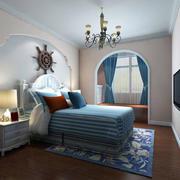 卧室精致典雅吊灯设计