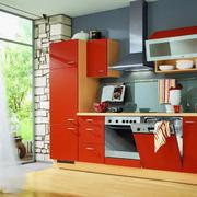 精美的欧式小户型开放式厨房装修效果图
