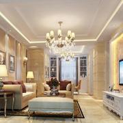 客厅时尚吊灯设计