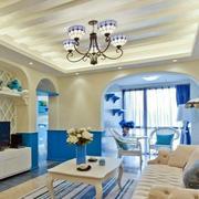 地中海风格独特吊灯设计