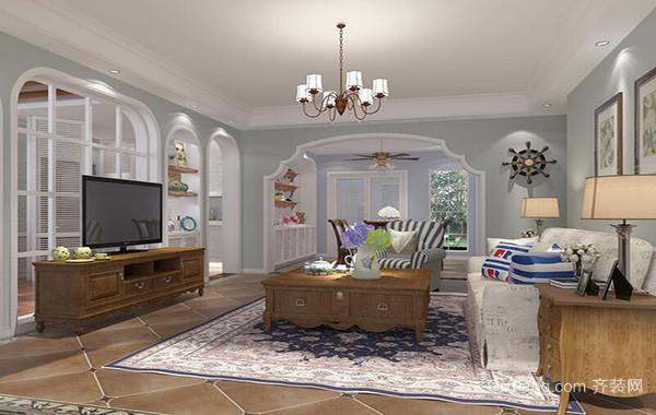 欧式风格现代复式楼室内设计装修效果图