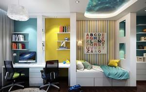 现代创意时尚儿童房装修效果图赏析