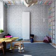 儿童房窗帘设计