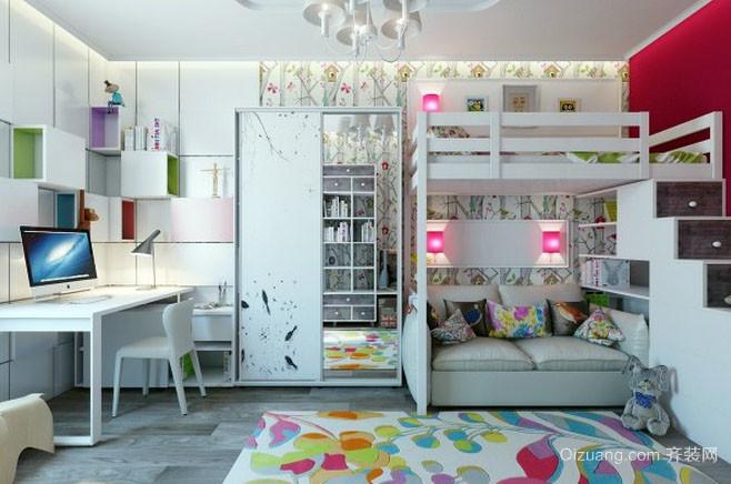 10平米时尚创意儿童房装修效果图