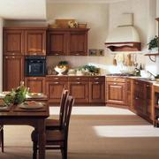 开放式中式厨房装修