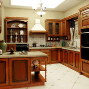 中式厨房整体设计