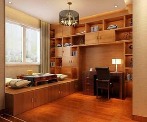 精致的别墅型卧室榻榻米装修效果图实例