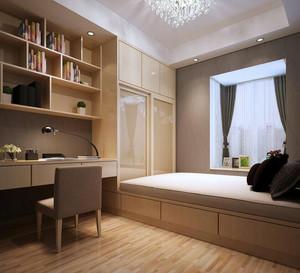 精致的三居室室内榻榻米装修效果图