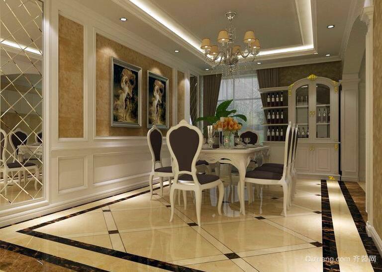 欧式风格小户型餐厅设计装修效果图