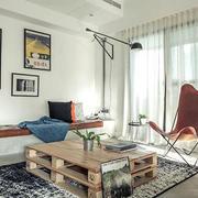 单身公寓客厅装修