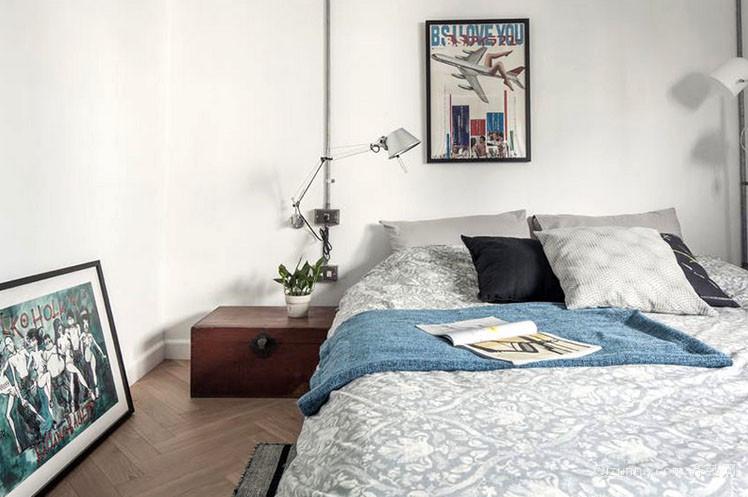 后现代风格极简主义卧室装修效果图