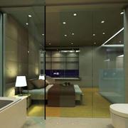 卫生间隔断设计
