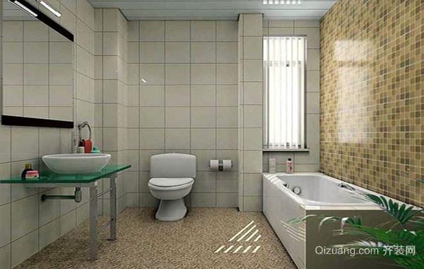 10平米精致时尚卫生间装修效果图赏析